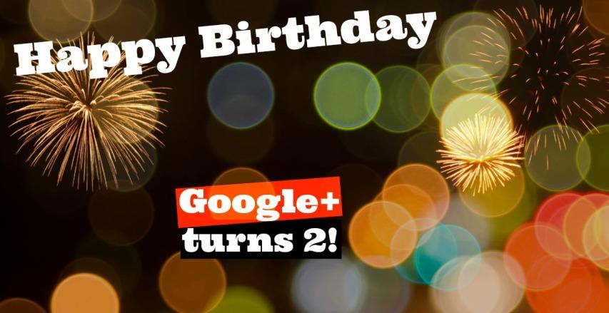 Google+ google plus birthday